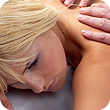 Image of woman getting massage.